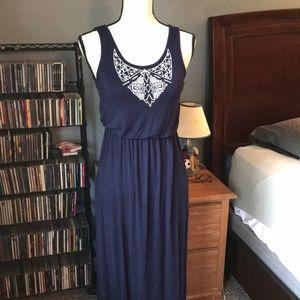 5/$25 XS Dark Blue Maxi Dress